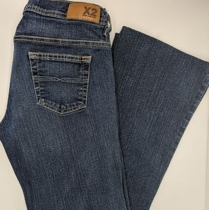 Express x2 jeans low rise bootcut - 2